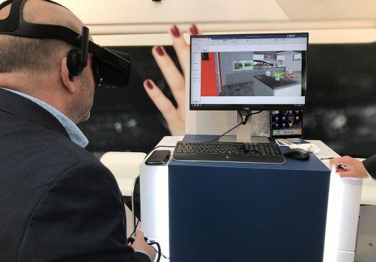 Virtual Reality Keuken : Retail keukens uw keuken prof
