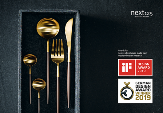 iF Design Award voor next125 Flex-Boxen